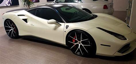 On sides, there are base bleed air intakes. 2015-2019 Ferrari 488 GTB Linea Tesoro Rear Trunk Lip Spoiler