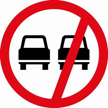 Overtaking R214 Prohibited Signs Road Vehicles
