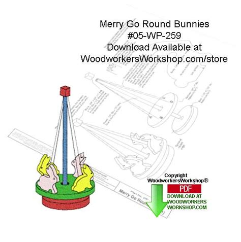 merry   downloadable woodworking pattern