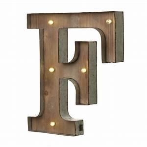 light up led letter f With led letters