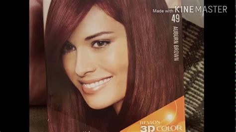 Dark Hair To Auburn Brown