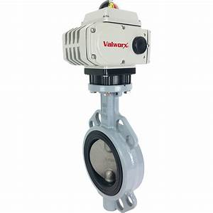 4 U2033 Electric Actuated Butterfly Valve  Wafer  Epdm  24 Vdc