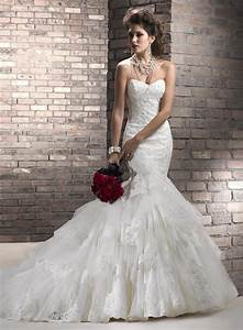 strapless mermaid wedding dresses with necklaces ipunya With wedding necklaces for strapless dresses