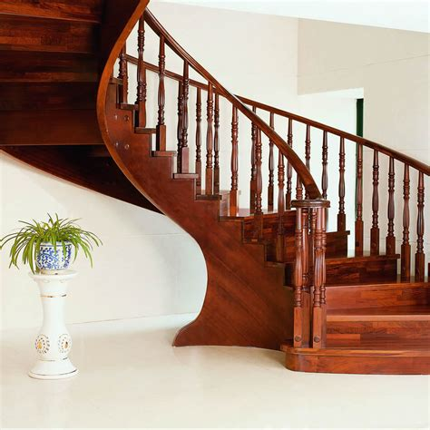 Buy Banister by Aliexpress Buy Solid Wood Interior Rotation Stair