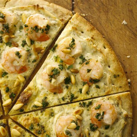 alouette cuisine shrimp sci pizza with alouette cheese bigoven
