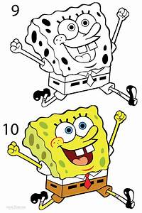 How To Draw Spongebob  Step By Step Pictures