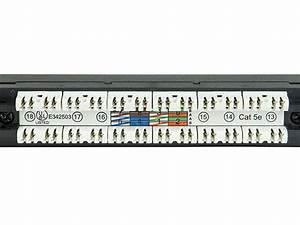 Monoprice Spacesaver 19in Half-u Utp Cat5e Patch Panel  24 Ports Dual Idc