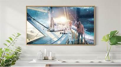 Frame Tv Samsung Global 4k Designed Meet