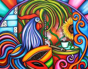 Colors Of My World Painting by Annie Maxwell