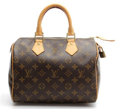 louis vuitton brown monogram canvas speedy  bag ebay