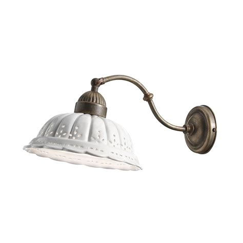 applique in stile applique stile liberty in ceramica di bassano il fanale
