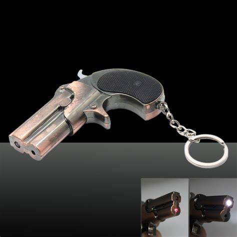 laser light gun 5mw 650nm beam light gun shaped laser pointer golden