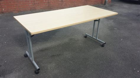 mdf foldable office computer desk table 160 215 80 used