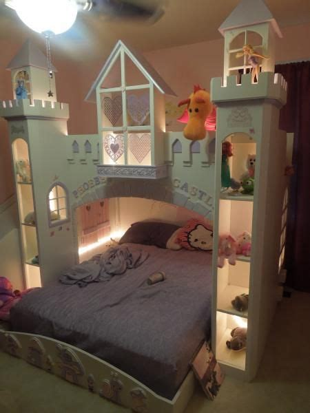 Do It Yourself Bedroom Decor by Phoebe S Castle Bed Do It Yourself Home Projects From