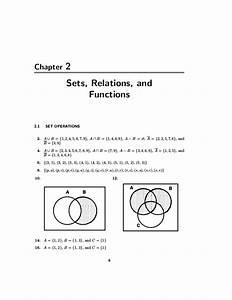 Discrete Mathematics 5th Edition Dossey Solutions Manual