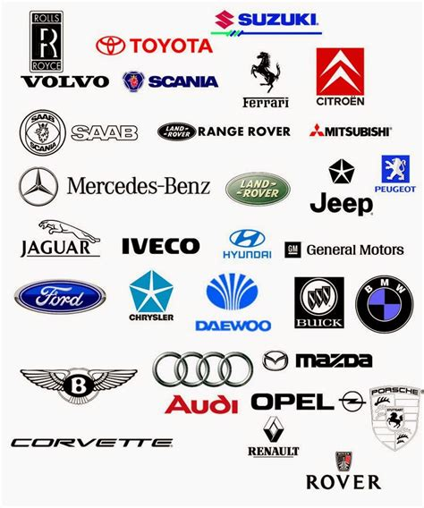 Brand Amazing For Car Logos