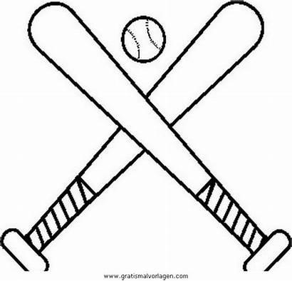 Baseball Coloring Dibujos Bat Beisbol Colorear Bates
