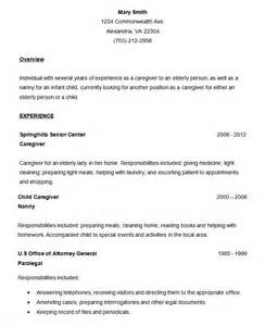 Simple Resume Exles by Simple Resume Gallery