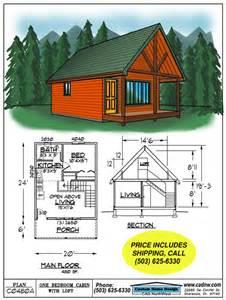 cabin layout plans c0480a cabin plan details