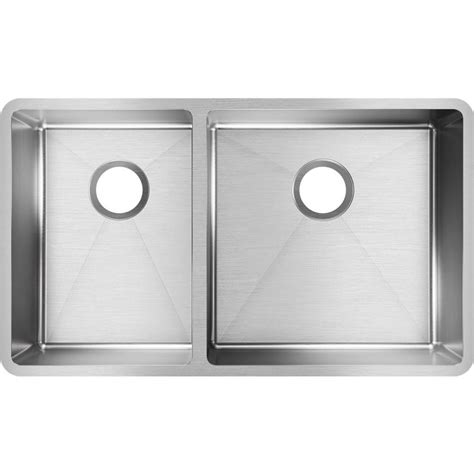 kitchen sink elkay elkay crosstown undermount stainless steel 32 in 2693