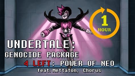 Undertale Genocide Package - Power of NEO One Hour - YouTube