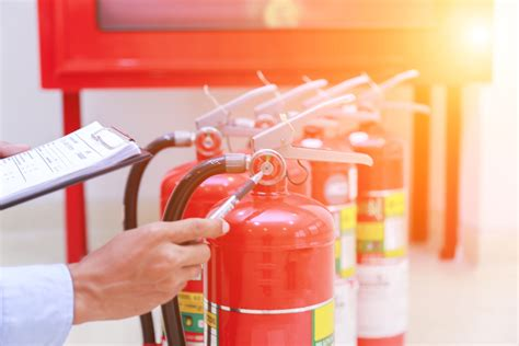 fire extinguisher inspection  maintenance tips