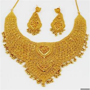 Gold Necklace Set Designs In Dubai | ANDINO JEWELLERY