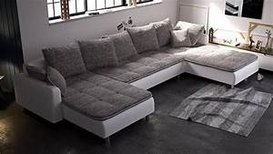 Big Sofa Eckcouch : canap a angle ~ Indierocktalk.com Haus und Dekorationen