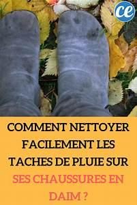 Nettoyer Le Daim : comment nettoyer facilement les taches de pluie sur ses chaussures en daim astuces maison ~ Nature-et-papiers.com Idées de Décoration
