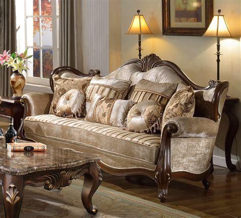 marseille provincial beige chenille sofa loveseat