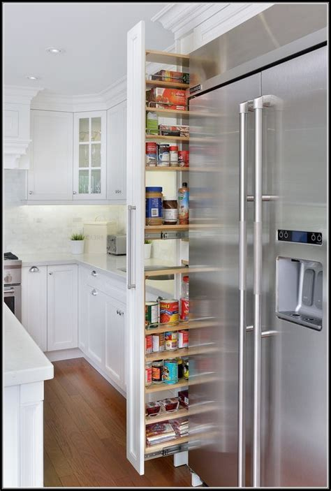 narrow pull out pantry cabinet narrow kitchen pantry cabinet pantry home design ideas