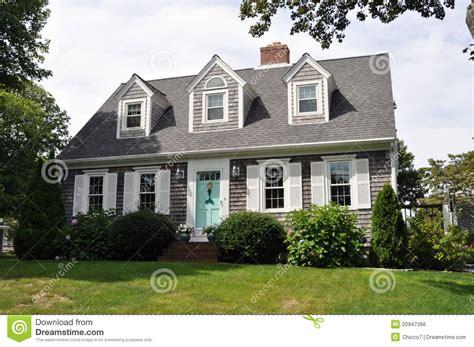 Schönes Englandhaus Lizenzfreies Stockbild  Bild 20947066
