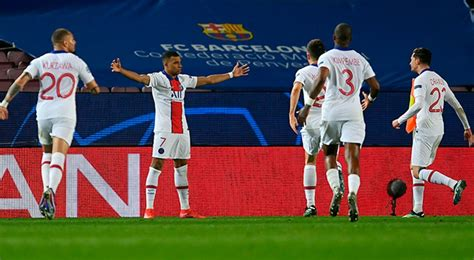 Ver Gol de Kylian Mbappe hoy Barcelona vs PSG EN VIVO 1-4 ...