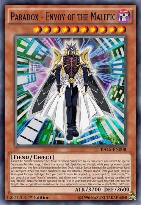 Yugioh Malefic Deck List by Paradox Envoy Of The Malefic By Kai1411 On Deviantart