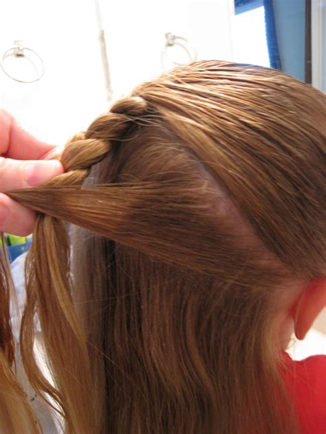 basic braid    french babes  hairland