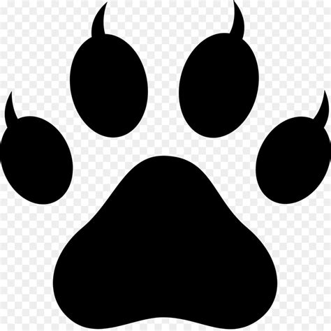 Tiger Paw Clip Cat Tiger Paw Clip Paw Png 1600 1591