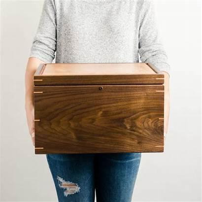 Keepsake Memory Wood Personalized Extra Walnut Cherry