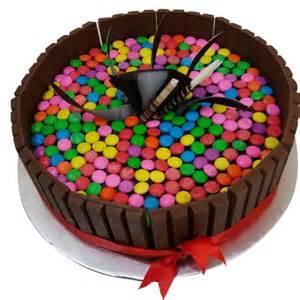 gems kit kat cake