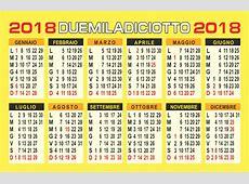 100 Calendario 2018 Da Stampare Gratis Idees