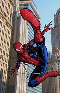 Ultimate Spiderman Cartoon Wallpaper