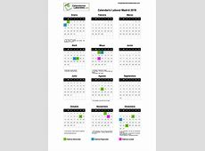 Calendario Laboral Madrid 2019