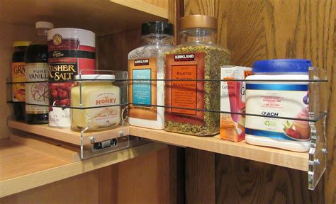 kitchen cabinet spice organizers spice racks cabinet spice rack drawers pull out spice 5791