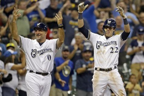 Yelich's 2nd Cycle In 3 Weeks Vs Reds Leads Brewers, 8-0
