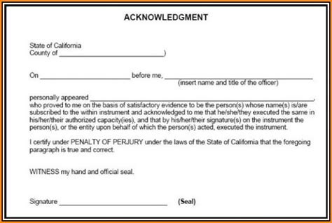 lien waiver form  notary form resume examples