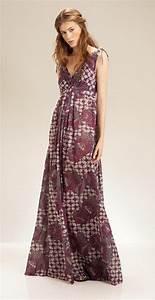 Robe Longue Style Boheme : robe longue hippie chic ~ Dallasstarsshop.com Idées de Décoration