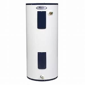 Shop Whirlpool 40-Gallon 6-Year Regular Electric Water