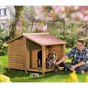 Hundehütte Mit Terrasse : hundeh tte natura mit terrasse l haustierzubeh ~ Watch28wear.com Haus und Dekorationen