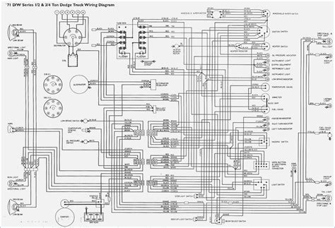 1986 dodge ram wire colors diagram fasett info
