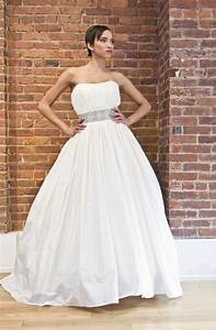 eco friendly wedding dress the cotton bride strapless With cotton wedding dress