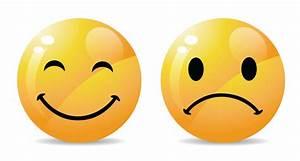 Sad And Smile Face Smiley Facebook Messenger - Images